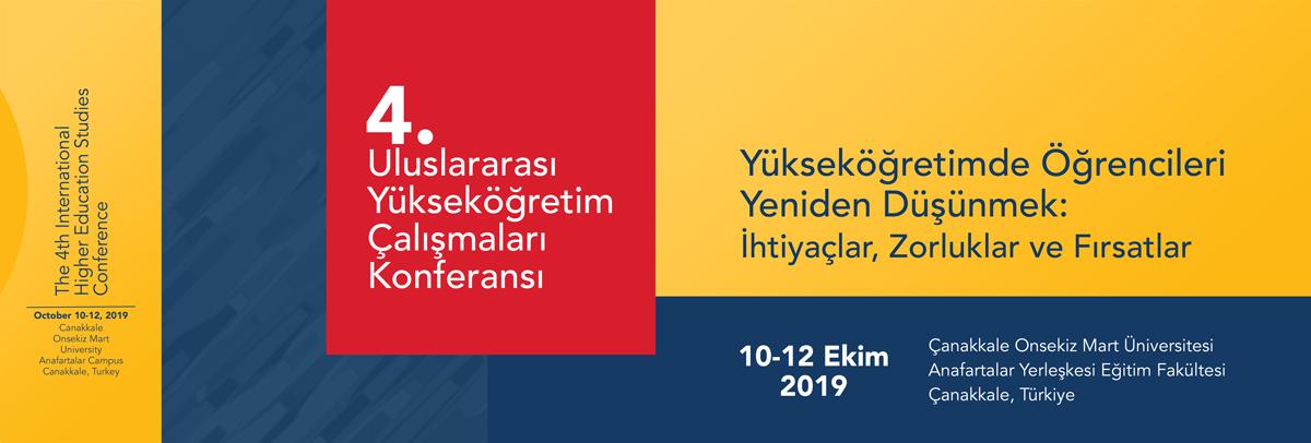 4. Uluslararası Yükseköğretim Çalışmaları Konferansı